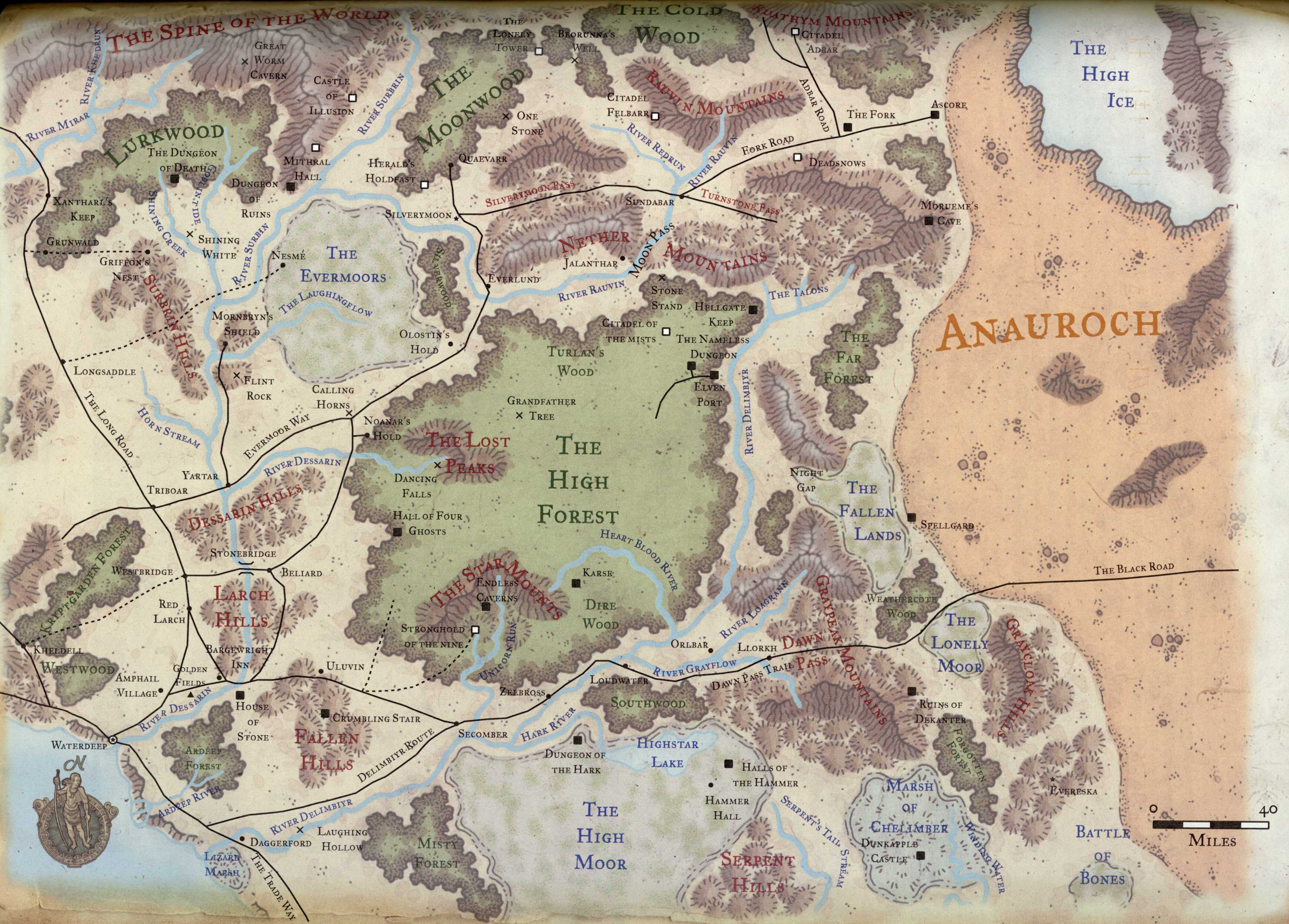 Mythopoeicpress faerun overview campaign map western heartlands gumiabroncs Gallery